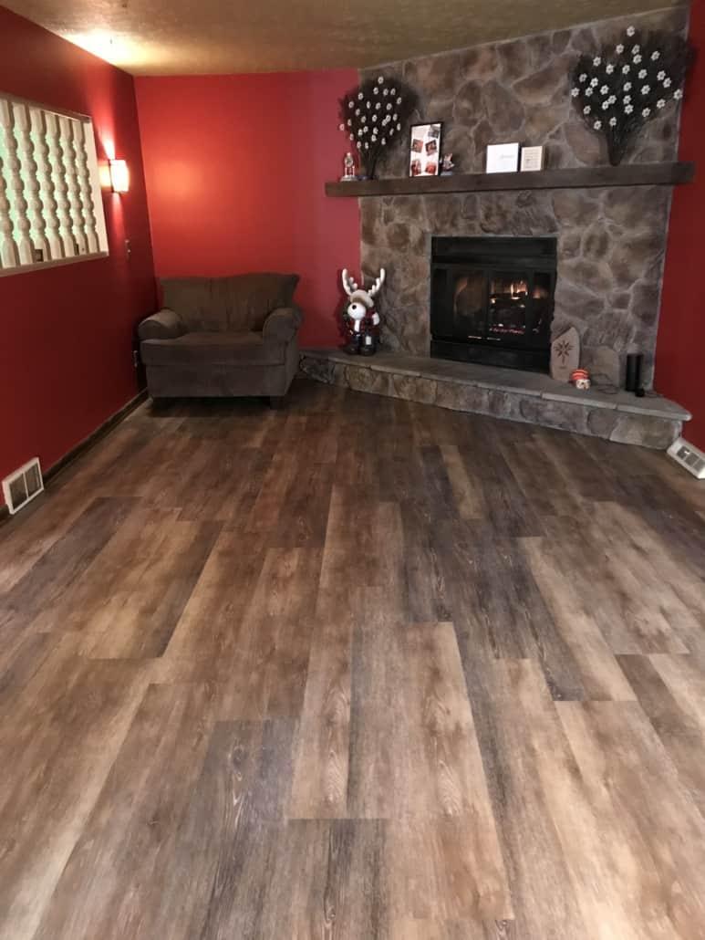 Laminate Plank Flooring – Norton, Ohio – Riley Home Remodel
