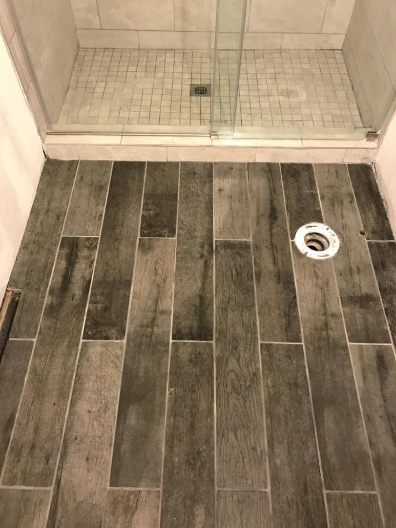 Custom Tile Shower And Floor Tile Medina Ohio Riley